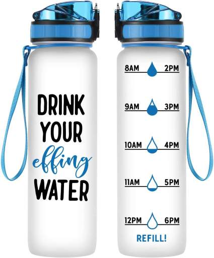 Motivational Tracking Water Bottle