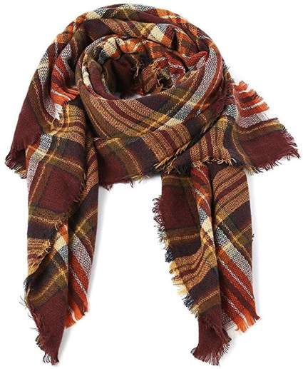 Trendy Women's Cozy Warm Winter Fall Blanket Scarf