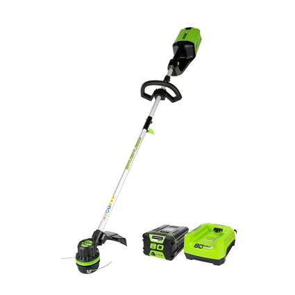 80V cordless string trimmer and charger