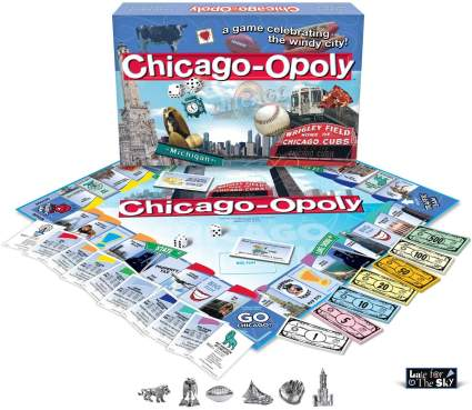 Late for the Sky Chicago-Opoly