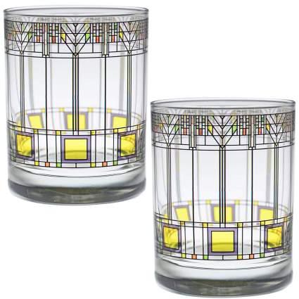 Frank Lloyd Wright DOF Double Old Fashioned Glass
