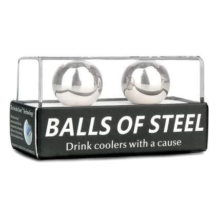 stainless steel whiskey balls