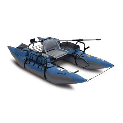 inflatable pontoon boat