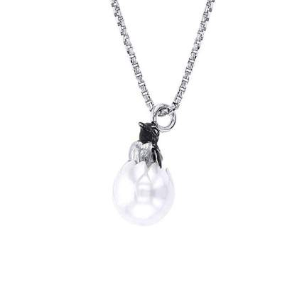 Hatching penguin chick necklace