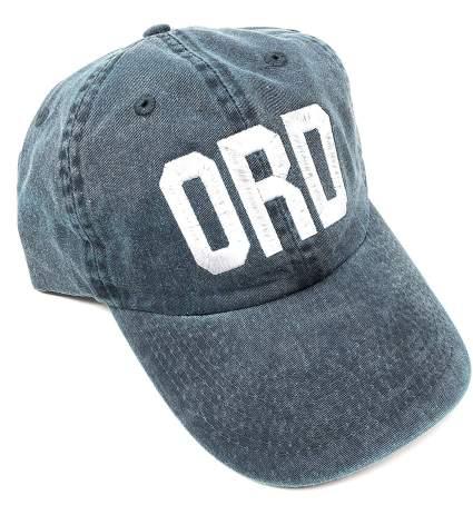 Custom Embroidered ORD O'Hare Baseball Hat
