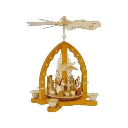 alexander taron Richard Glaesser nativity scene christmas pyramid