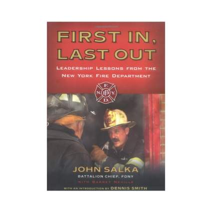 first in last out book firefighter gifts