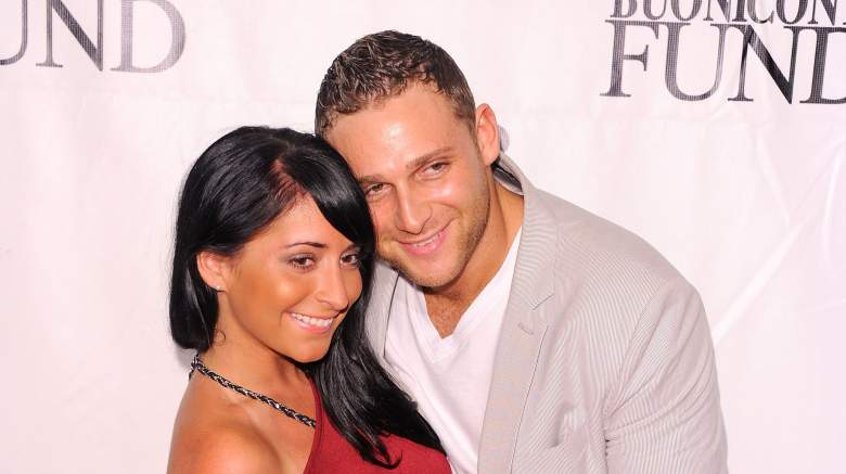 Angelina Pivarnick and Finance Chris Attend An Event