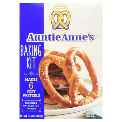 Auntie Anne's Make Your Own Pretzel Baking Kit