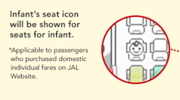 baby seat map