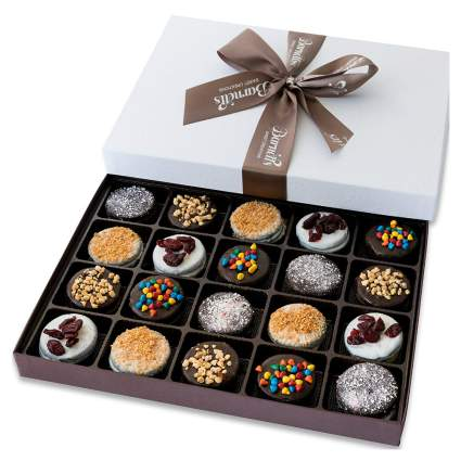 Barnett's Chocolate Covered Sandwich Cookies Gift Box