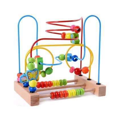 bead maze toddler toy
