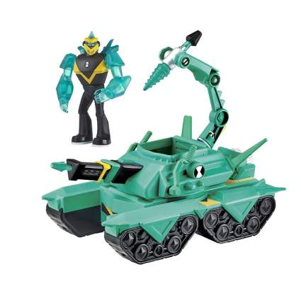 BEN10 Diamondhead Driller Tank Vehicle w/Figure