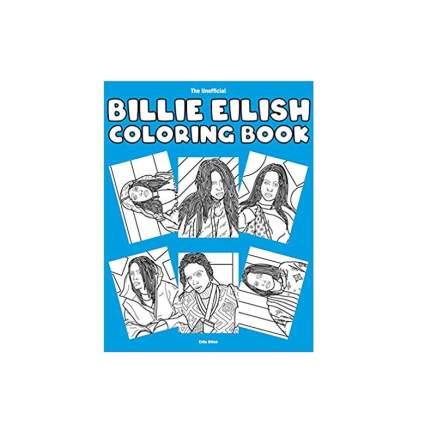 Unofficial Billie Eilish Coloring Book