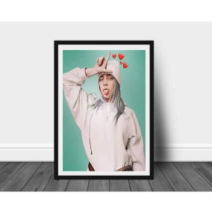 Billie Eilish Limited Poster Artwork