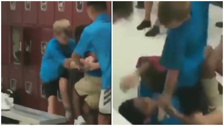 Blake Academy locker room attack