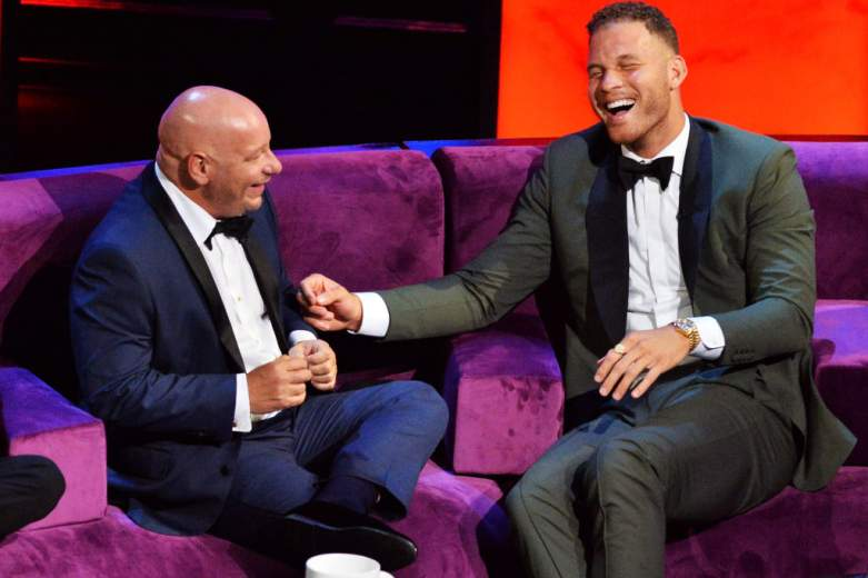 Blake Griffin and Jeff Ross