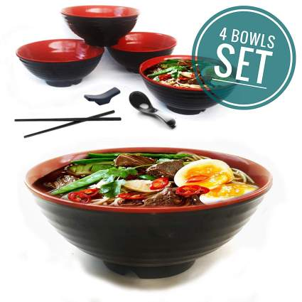 ramen gifts bowl set