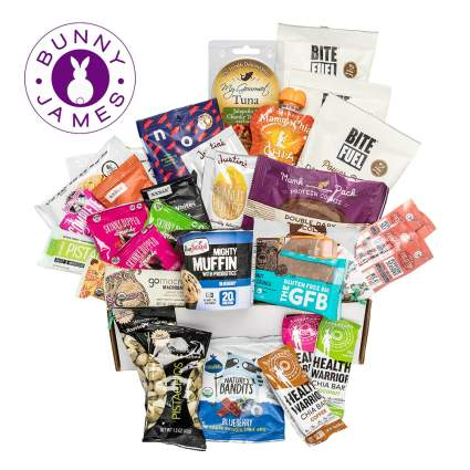 Bunny James High Protein Healthy Snacks Deluxe Fitness Box