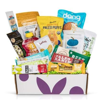 Bunny James Paleo Diet Snacks Gift Basket