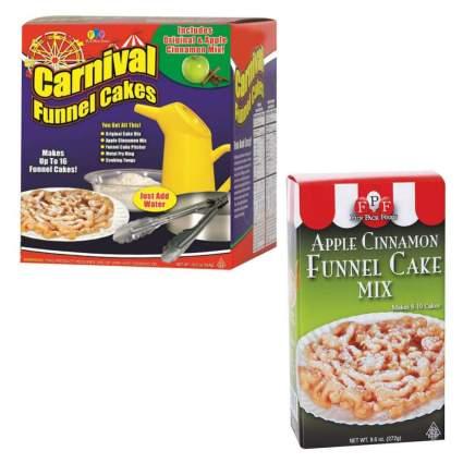 Carnival Deluxe Funnel Cake Kit Apple Cinnamon Funnel Cake Mix