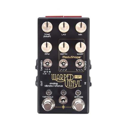 Chase Bliss Audio warped vinyl chorus pedal