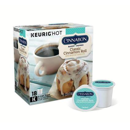 Cinnabon Classic Cinnamon Roll Keurig Single-Serve K-Cup Pods