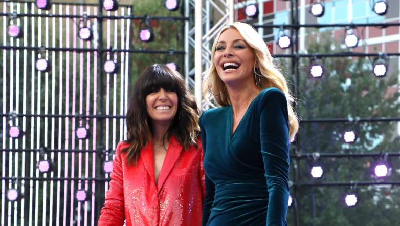 Claudia Winkleman and Tess Daly Host Strictly Come Dancing