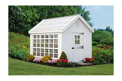 Colonial style greenhouse