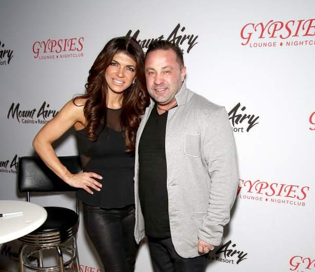 Teresa Giudice with Joe Giudice