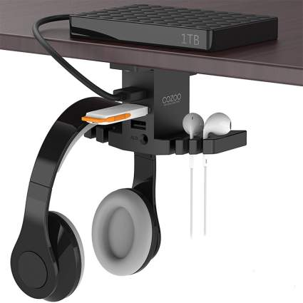 COZOO Headphone Stand with USB Hub