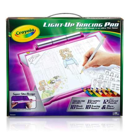 Crayola Light-up Tracing Pad - Pink