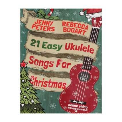 createspace 21 easy ukulele songs for Christmas sheet music