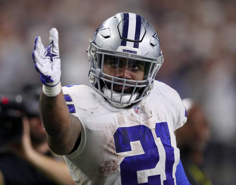 Ezekiel Elliott agreed to a contract extension with the Cowboys on Wednesday.