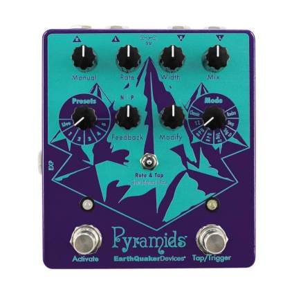 earthquaker devices pyramids flanger pedal