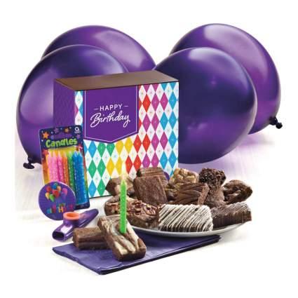 Fairytale Brownies Birthday Surprise Chocolate Food Basket