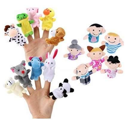 finger puppets toddler stocking stuffers