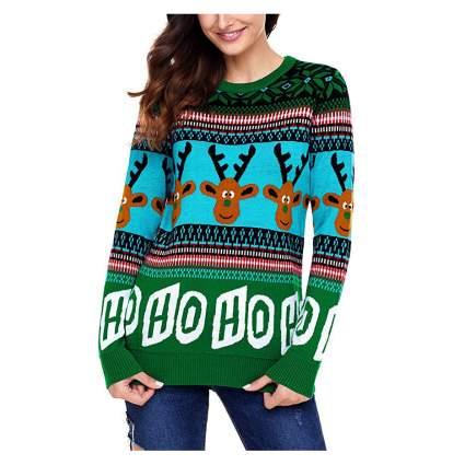 Reindeer xmas sweater