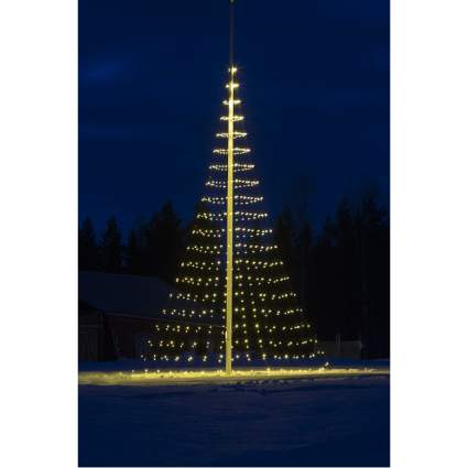 flagpole xmas tree