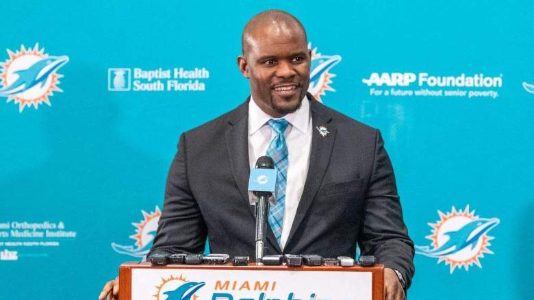 Dolphins Brian Flores