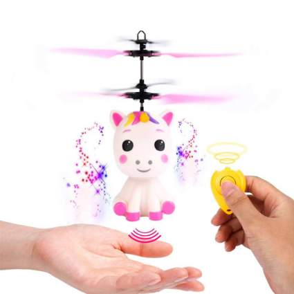 Flying Unicorn Toys Flying Fairy Toys for Girls