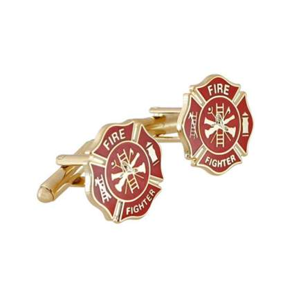 forge maltese cross cufflinks firefighter gifts