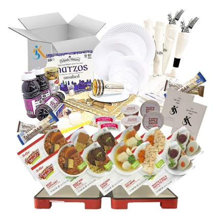 Generic Kosher Shabbos Deluxe Meal Package for Two with HotMat