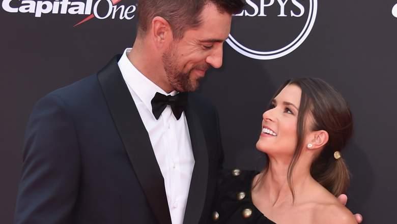 Danica Patrick Celebrates Aaron Rodgers Packers Start Heavy Com