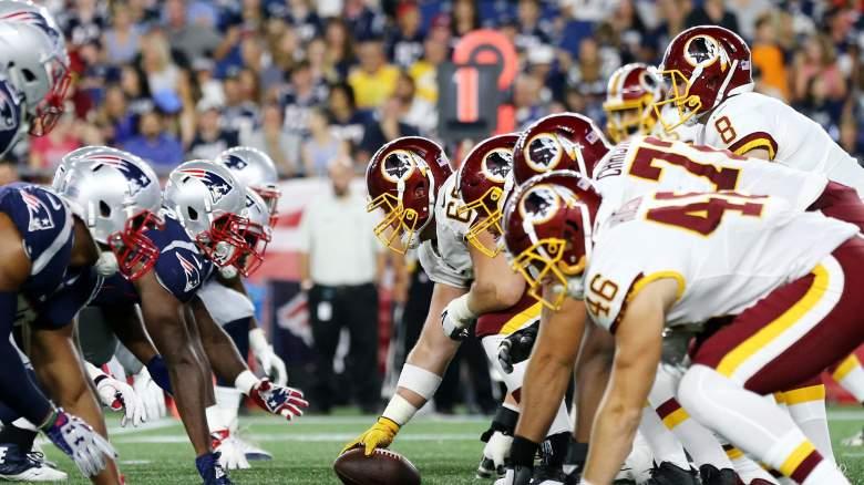 Patriots Redskins