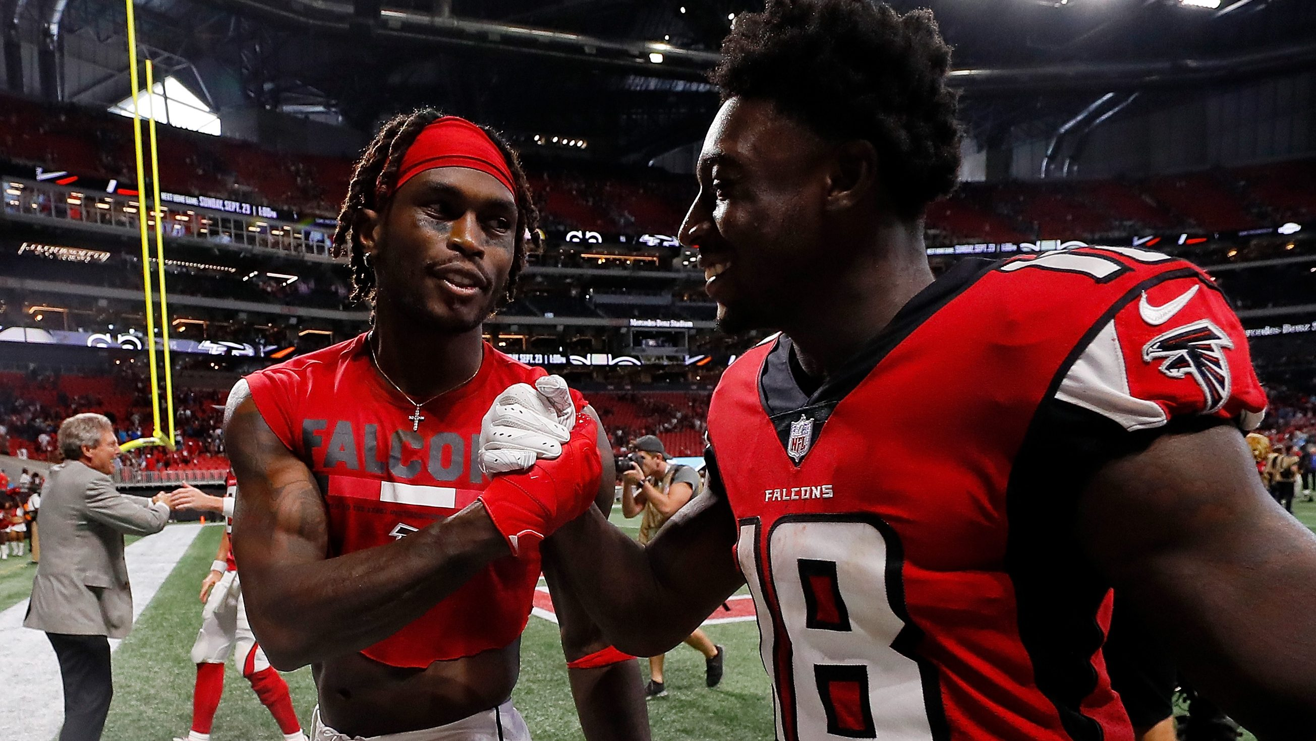 Calvin Ridley Fantasy Start Or Sit Falcons Wr Week 1 Heavy Com