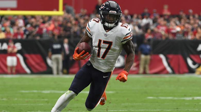 Chicago Bears wide receiver Anthony Miller raiders