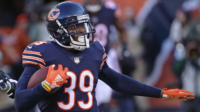 Chicago Bears safety Eddie Jackson