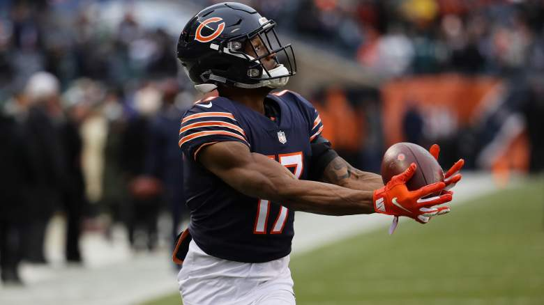 Chicago Bears wide Receiver Anthony Miller