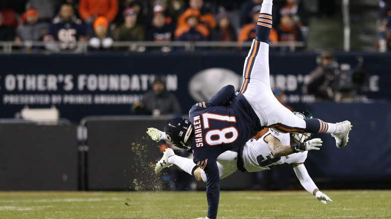 Chicago Bears tight end Adam Shaheen